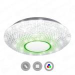 Управляемый светодиодный светильник AKRILIKA RGB 36W R-410-CLEAR/WHITE-220-IP20 MAYSUN Astrella Estares c пультом ДУ